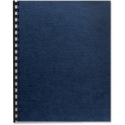 Fellowes Linen Presentation Covers - Letter, Navy, 200 Pack