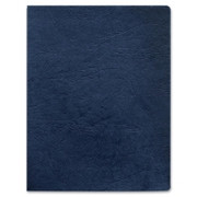 Fellowes Grain Presentation Covers - Oversize, Navy, 200 Pack