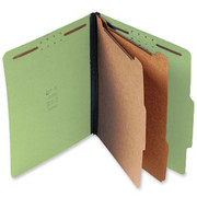 Top Tab Pressboard Classification Folder - Green - 4