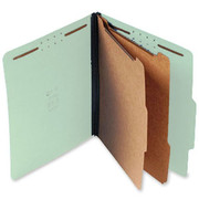 Top Tab Pressboard Classification Folder - Pale Green - 3