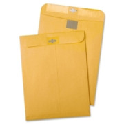 Quality Park Resealable Redi-Tac Clear Clasp Envelope - 1