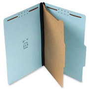 Top Tab Pressboard Classification Folder - Blue - 3