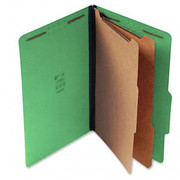 Top Tab Pressboard Classification Folder - Emerald Green - 2