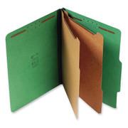 Top Tab Pressboard Classification Folder - Emerald Green - 3