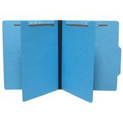Top Tab Colored Classification Folder - Blue