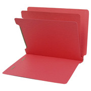 End Tab Colored Classification Folder - Red