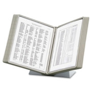 Durable Desk Reference System with Display Sleeves