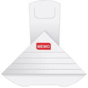 Quality Park Write-on XL Memo Deltaclip