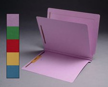 End Tab Colored Classification Folder - Lavender