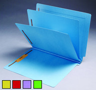 End Tab Colored Classification Folder - Yellow - 2