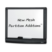 Fellowes Mesh Partition Additions Dry Erase Board