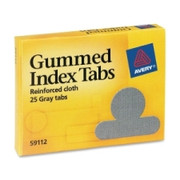 Avery Gummed Round Index Tab - 1