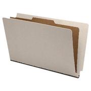 End Tab Pressboard Classification Folder - Gray - 1