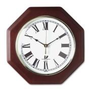 Chicago Lighthouse Octagon Mahogany Frame Clock