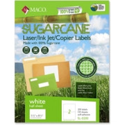 Maco Printable Sugarcane Mailing Labels