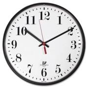 """Chicago Lighthouse Contemporary 12.75"""" Quartz Slimline Clock"""