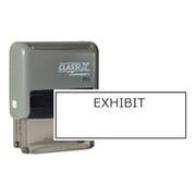 Xstamper EXHIBIT Block Stamp