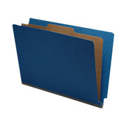 End Tab Pressboard Classification Folder - Cobalt Blue - 2