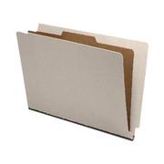 End Tab Pressboard Classification Folder - Gray - 3