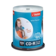 Imation CD Recordable Media - CD-R - 52x - 700 MB - 100 Pack Spindle - 1
