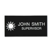 Xstamper Standard Logo Name Badge - 2