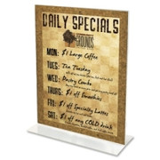 Deflect-o Classic Image Standup Sign Holder - 1