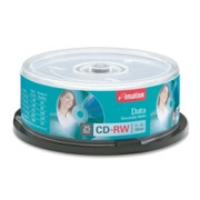 Imation CD Rewritable Media - CD-RW - 4x - 700 MB - 25 Pack Spindle - Retail