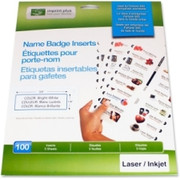 Imprint Plus Laser/Inkjet Badge Insert - 1