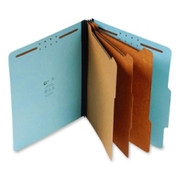 Top Tab Pressboard Classification Folder - Blue - 4