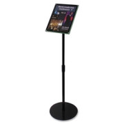 Deflect-o Telescoping Sign Holder - 1