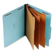 Top Tab Pressboard Classification Folder - Blue - 5