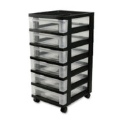 Iris Mini Storage Cart - 1
