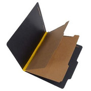 Fusion Series Pressboard Classification Folder - Yellow Gusset