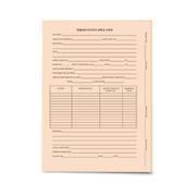LegalSupply Tri-Fold Foreign Patent Application Folder - Orange
