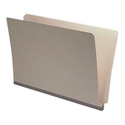 End Tab Pressboard Folder - Gray - 1
