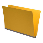 End Tab Pressboard Folder - Yellow - 1