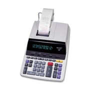Sharp EL2630PIII Microban Print Display Calculator