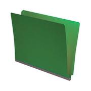 End Tab Pressboard Folder - Emerald Green - 1