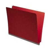 End Tab Pressboard Folder - Ruby Red - 1