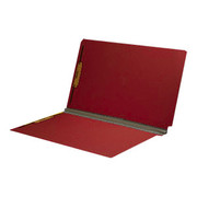 End Tab Pressboard Folder - Ruby Red - 2