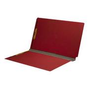 End Tab Pressboard Folder - Ruby Red - 2