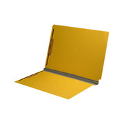 End Tab Pressboard Folder - Yellow - 7