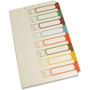 SJ Paper Side Tab TOC Divider - 2