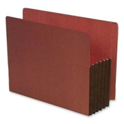 SJ Paper Expanding Red Rope File Pocket - 2