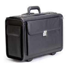 """Korchmar 19"""" Wheeled Litigation Bag with End Pockets"""