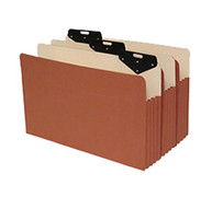 """Metal Tab File Pocket with 6.5"""" Paper Gusset - Legal Size"""
