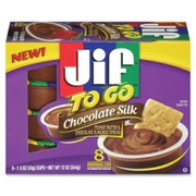 Jif To Go Chocolate Peanut Butter Snack Cups