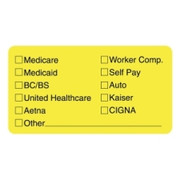 Tabbies Medical Office Insurance Label