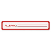 Tabbies Allergy Label