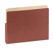SJ Paper Red Wallet Expanding Pockets - 1